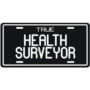 New  True Health Surveyor  License Plate Occupations