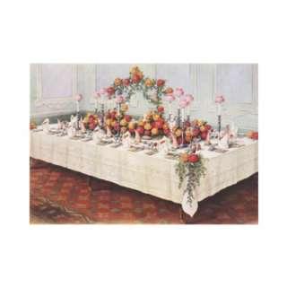 Vintage illustration food and beverages image featuring a wedding