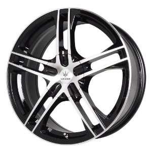 Verde Custom Wheels Protocol Black Wheel with Machined Lip