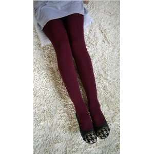 Live Shop Cute Lovely Sexy Dark Red Thick Tights: Toys
