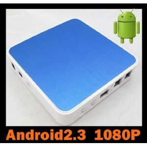 Android 2.3 HDMI HD 1080P Wifi Internet TV Set Top Box Media Player