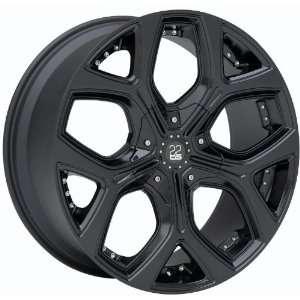 TIS TIS13BP28592 TIS13 BLACK Wheel Rim 20 8.5x5 5x115