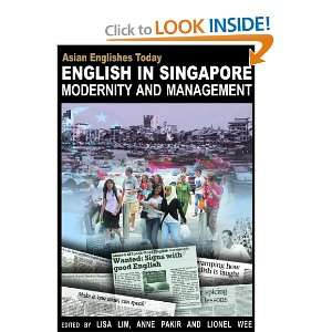 Management (Asian Englishes Today) (9789888028429) Lisa Lim Books