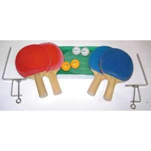 Table Tennis Set 4 Player Set