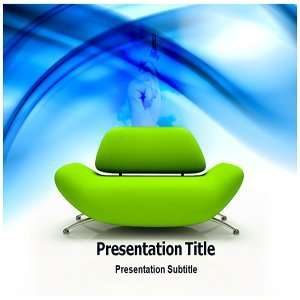 Seat For Success PowerPoint Template   Backgrounds