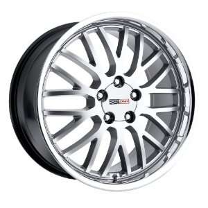18x10.5 Cray Manta (Hyper Silver w/ Mirror Lip) Wheels/Rims 5x120.7
