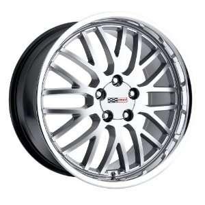 18x10.5 Cray Manta (Hyper Silver w/ Mirror Lip) Wheels/Rims 5x120.7