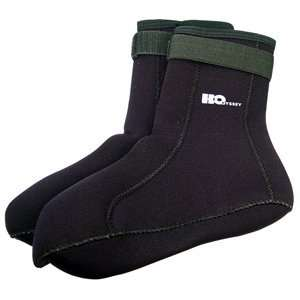 2MM, Sock, High Top, Black, Large