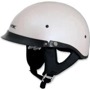 AFX FX 200 DUAL LENS MOTORCYCLE HELMET PEARL WHITE XS