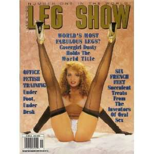 LEG SHOW NOVEMBER 1992: LEG SHOW MAGAZINE: Books