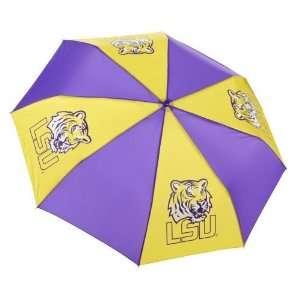Academy Sports Storm Duds LSU Super Pocket Mini Umbrella
