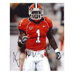 Vonte Davis Autographed / Signed University of Illinois