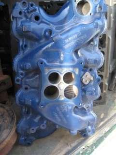 429 Ford Police Interceptor/ 429CJ intake manifold, D1AE BA