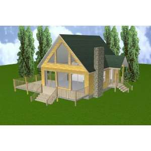 Cabin floor plans 24x28 joy studio design gallery best for 16x32 house plans