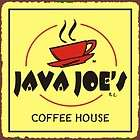 VINTAGE METAL TIN ADVERTISING SIGN JAVA JOLT COFFEE