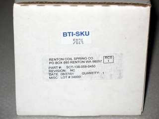 RCS Ti Titanium Rear Shock Spring 2.8 x 450lb Fox SRAM Rockshox Rock