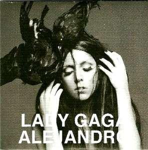 LADY GAGA *ALEJANDRO* SPECIAL PROMO Official Collectors CD NEW