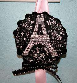 Organizer mw MICHAEL MILLER Black White Pink Eiffel Tower Paris