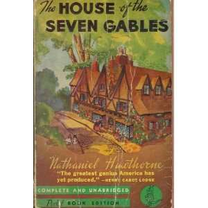 The House of Seven Gables Nathhaniel Hawthrone Books