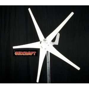 GudCraft WG450 450 Watt 24 Volt 5 Blade Residential Wind
