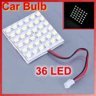 36 SMD LED Car Interior Dome Door White Light Bulb Lamp