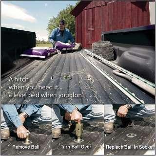 2011 Chevy/GMC ¾ & 1 Ton Gooseneck Turnoverball Hitch