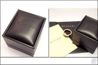 v4755   BULGARI B.ZERO1 18K SOLID ROSE GOLD & BLACK CERAMIC