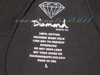 Diamond Supply Co Un Polo Long sleeve Diamond Blue Khalifa Cassie Sade