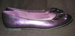 AMERICAN EAGLE womens dark purple shoes, flats, size 7