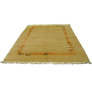 10 Indian Nepali Hand Knotted Wool Rug