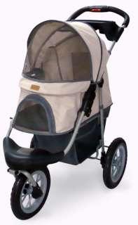 New BestPet Beige/Blue/Pink/Red Pet Jogger Jogging Dog Cat Stroller