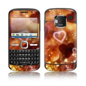 Love Love Love Design Decorative Skin Cover Decal Sticker for Nokia E5