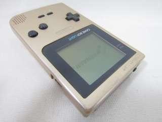 Nintendo Game Boy Light Console System Gold MGB 101 1742