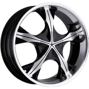 5x115 5x139.7 5x5.5 +18mm Machined Black Wheels Rims 18 Automotive