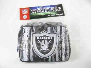 NFL Oakland RAIDERS Ice Chest Lunch Box Cooler Bag