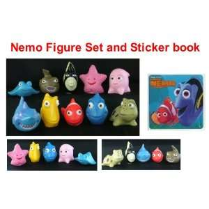13 Piece Play Set and Sticker Pack   Playset Features Bruce The Shark