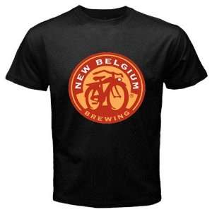 Fat Tire Beer Logo New Black T shirt Size M Free