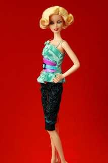 LD1285 Blue Black Designer Fashion Set Barbie FR G