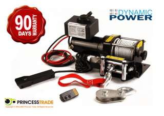 NEW 12V 3000LBS /1361KG ELECTRIC WINCH + WIRELESS BOAT