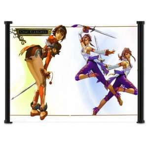 Soul Calibur Xianghua Game Fabric Wall Scroll Poster (23