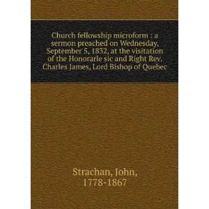 Church fellowship microform  a sermon preached on