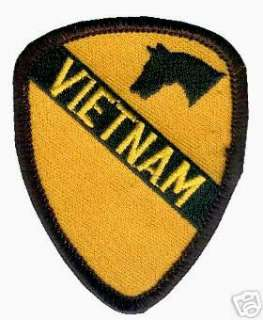 VIETNAM US ARMY 1ST CAVALRY DIVISION 1ST CAVALRY PATCH