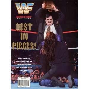 Magazine : Paul Bearer Turns On The Undertaker (1996): WWE: Books
