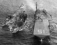 CV 15 WORLD WAR II MAIDEN CRUISE BOOK YEAR LOG 1944 45   NAVY