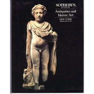 Antiquities and Islamic Art, New York, May 29, 1987