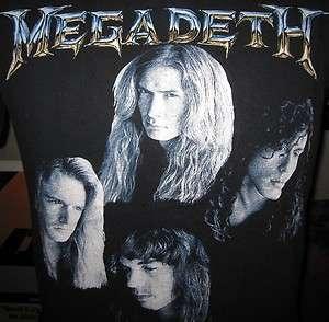 90S 1992 MEGADETH COUNTDOWN TO EXTINCTION METAL ROCK MUSIC T SHIRT M