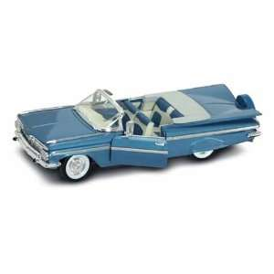 1959 Chevy Impala Convertible 1/18 Blue Toys & Games