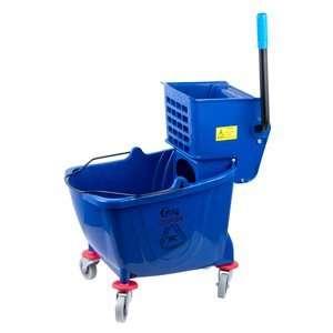 com Blue 36 Quart Mop Bucket & Wringer Combo Health & Personal Care