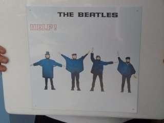 Large Metal Sign Beatles Album Covers New