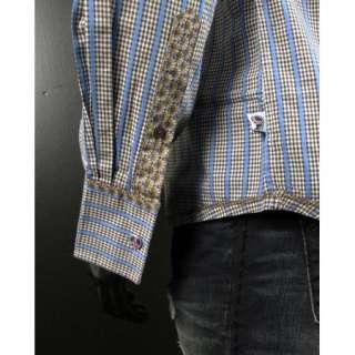 NWT JOHN LENNON English Laundry Shirt SWINDLE CLOSE Brown Plaid